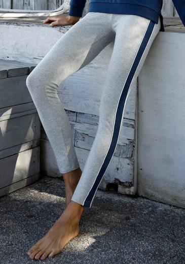 Bench. Leggings »Tricolore« mit Seitenstreifen und Logostickerei