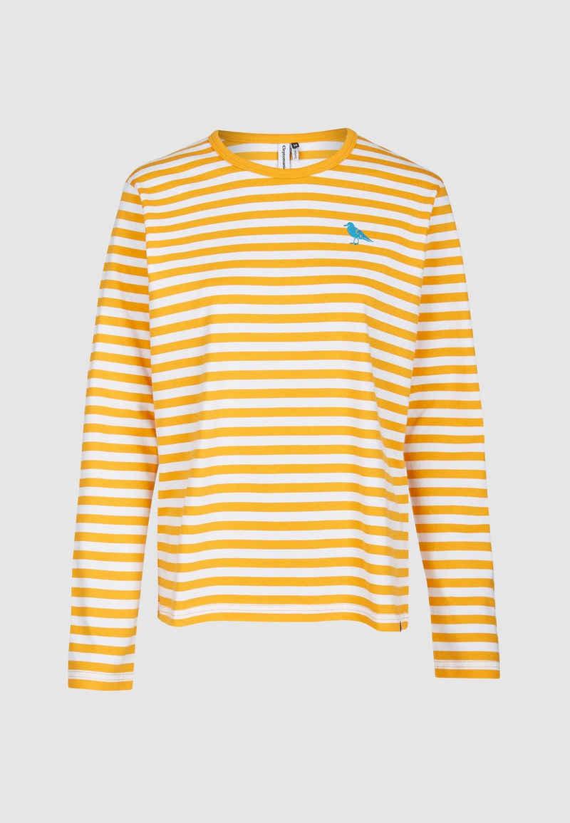 Cleptomanicx Langarmshirt »Gull Stripe 2« mit modischen Streifen