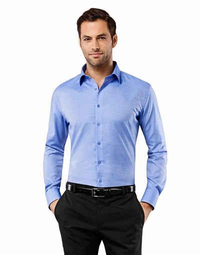 Vincenzo Boretti Business-Hemd im Slim Fit- Schnitt