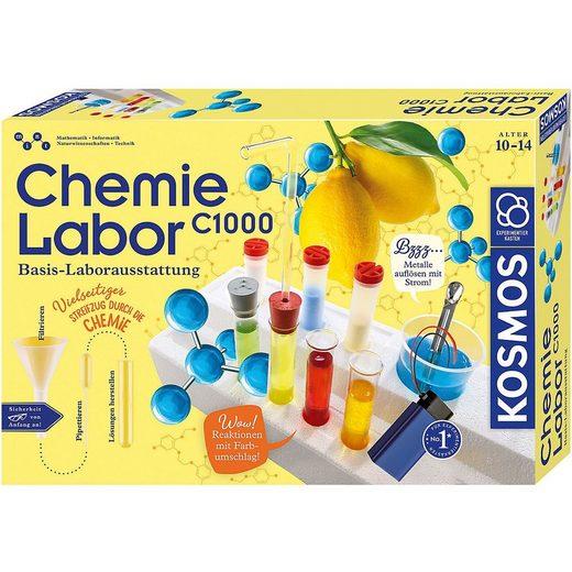 Kosmos Lernspielzeug »Chemielabor C 1000«
