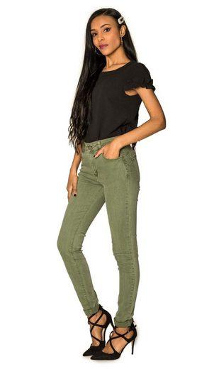 Nina Carter Skinny-fit-Jeans »3302« Damen Denim Jeans SIRA