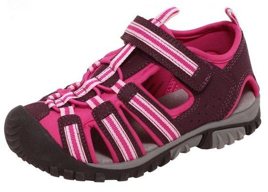 Zapato Outdoorsandale Mädchen Sport Outdoor Sandalen Kinder Sommersandalen Schuhe Klettverschluss pink