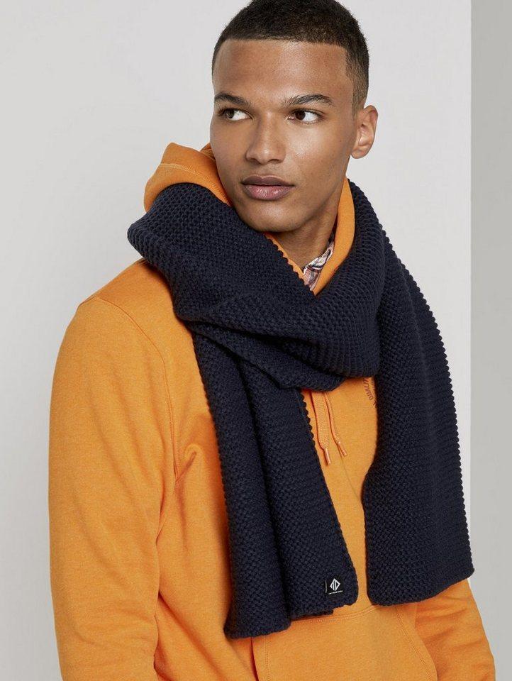 tom tailor denim -  Strickschal »Schlichter Schal aus Strick«