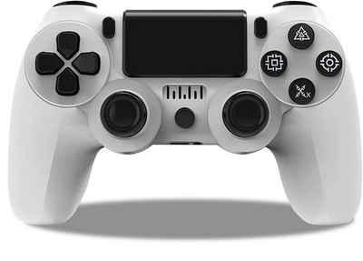 Vaxiuja »Gamepad, Wireless Game Controller für PS4, Verdrahtete Verbindung, Bluetooth-Verbindung, drahtlose Verbindung, für PS4« Gamepad