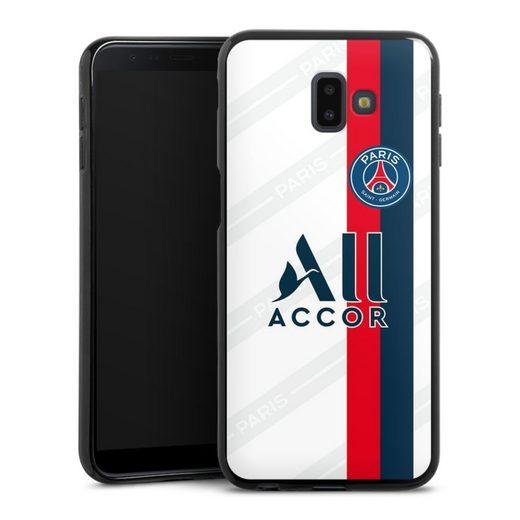 DeinDesign Handyhülle »Third Jersey PSG 2019/20« Samsung Galaxy J6 Plus (2018), Hülle Paris Saint-Germain Trikot PSG