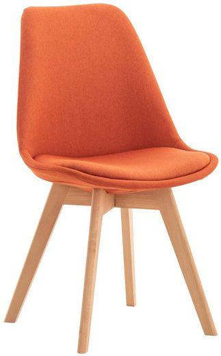 CLP Küchenstuhl »Linares« Kunststoff mit Kunstlederbezug