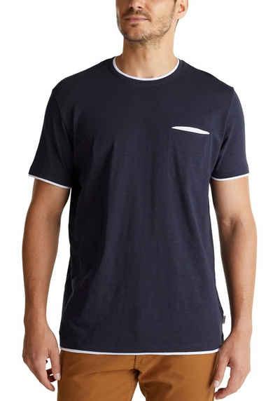 Esprit T-Shirt in Slub-Yarn-Optik
