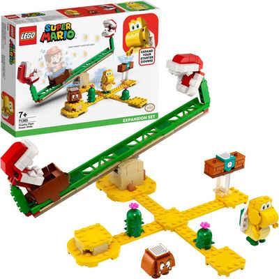 LEGO® Konstruktionsspielsteine »Piranha-Pflanze-Powerwippe – Erweiterungsset (71365), LEGO® Super Mario«, (217 St), Made in Europe
