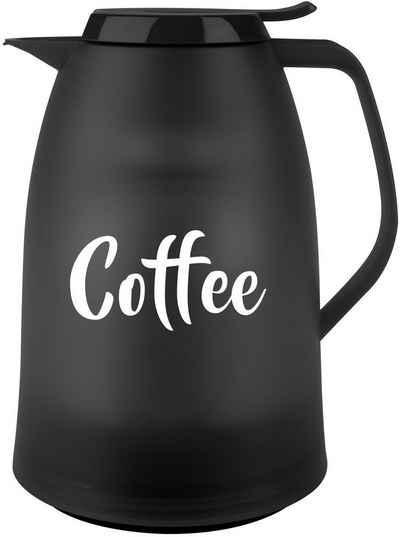 "Emsa Isolierkanne »Mambo«, 1 l, Design mit ""Coffee"" Schriftzug, Made in Germany"