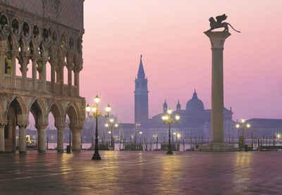 Komar Fototapete »San Marco«, glatt, bedruckt, Stadt, Kunst, (Set), ausgezeichnet lichtbeständig