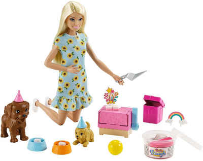 Barbie Anziehpuppe »Hündchenparty und Puppe« (Set)