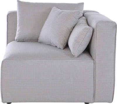 Guido Maria Kretschmer Home&Living Sofa-Eckelement »Comfine«, Modul-Ecke zur indiviuellen Zusammenstellung eines perfekten Sofas, in 3 Bezugsvarianten und vielen Farben, Bezug auch in Luxus-Microfaser in Teddyfelloptik