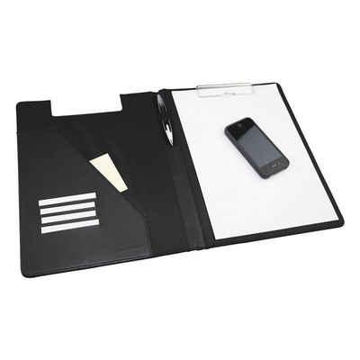 MONOLITH Schreibmappe, für Format A4, mit Klemmbrett