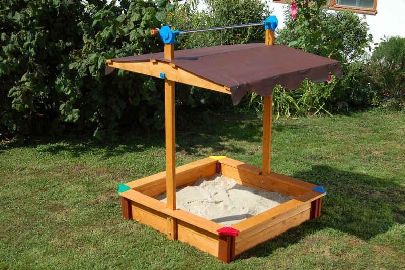 GASPO Sandkasten »Felix«, BxLxH: 100x100x130 cm
