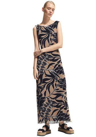 Comma Ilga suknelė su Alloverprint iš tinkle...