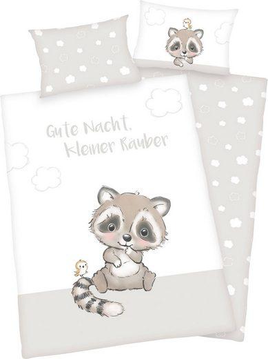 Babybettwäsche »Kleiner Räuber«, Baby Best, aus Flanell