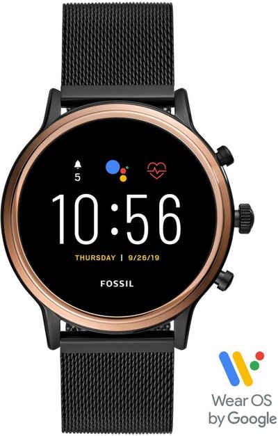 Fossil Smartwatches JULIANNA HR SMARTWATCH, FTW6036 Smartwatch (1.28 Zoll, Wear OS by Google), mit individuell einstellbarem Zifferblatt