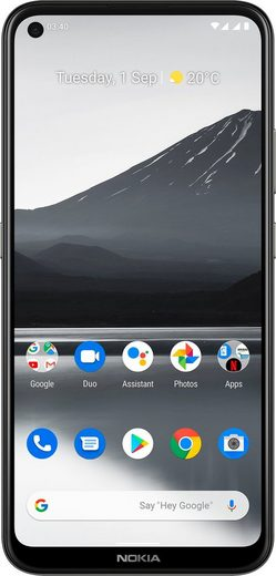 Nokia 3,4 Smartphone (16,23 cm/6,39 Zoll, 64 GB Speicherplatz, 13 MP Kamera)