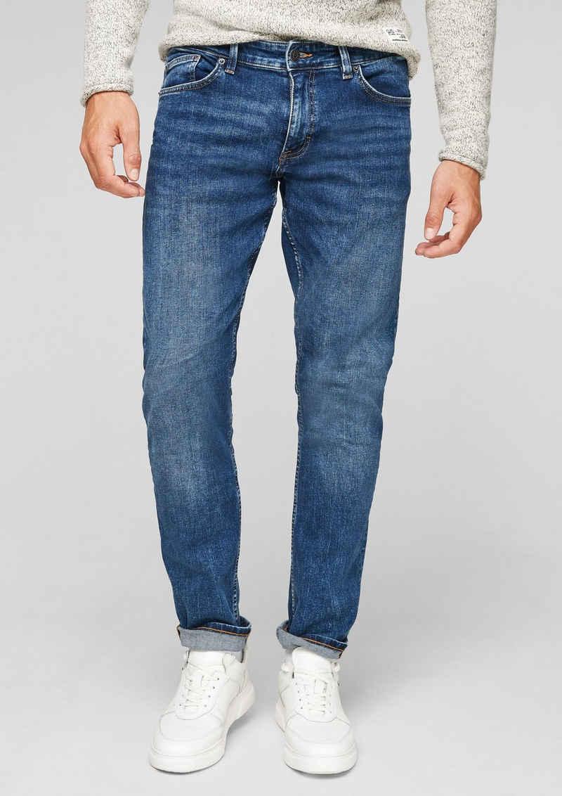 Q/S by s.Oliver 5-Pocket-Jeans »Slim: Denim mit Waschung« Waschung