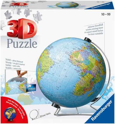 Ravensburger Puzzleball »Globus in deutscher Sprache«, 540 Puzzleteile, Made in Europe, FSC® - schützt Wald - weltweit