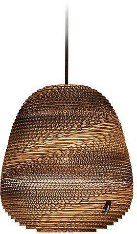 think paper Hängeleuchte »Binky 210«, Deckenlampe, Hängelampe, Papierlampe, edles Design
