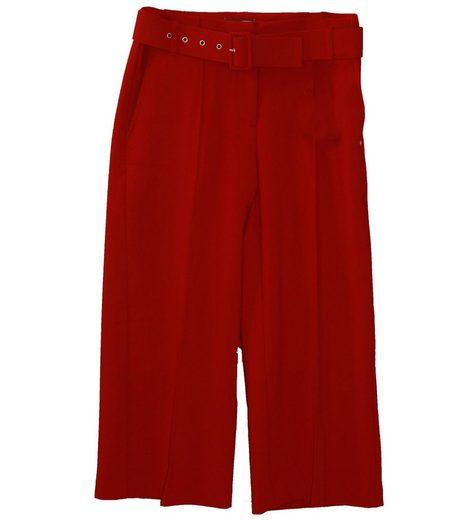 GUIDO MARIA KRETSCHMER Stoffhose »GUIDO MARIA KRETSCHMER Stoff-Hose stilvolle Damen Bundfalten-Hose mit hohem Bund und weitem Beinverlauf Business-Hose Rot«
