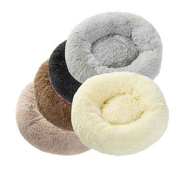 Jucon Tierbett »Plüsch Hundebett rund, Katzenbett rund, verschiedene Größen und Farben«