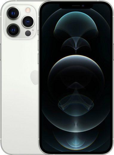Apple iPhone 12 Pro Max - 256GB Smartphone (17 cm/6,7 Zoll, 256 GB Speicherplatz, 12 MP Kamera, ohne Strom Adapter und Kopfhörer, kompatibel mit AirPods, AirPods Pro, Earpods Kopfhörer)