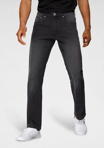 John Devin Straight-Jeans su lengvas Waschung