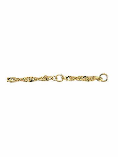 Adelia´s Fußkette »333 Gold Singapur Fußkette Fußkettchen 25 cm«, Singapur Kette Goldschmuck für Damen