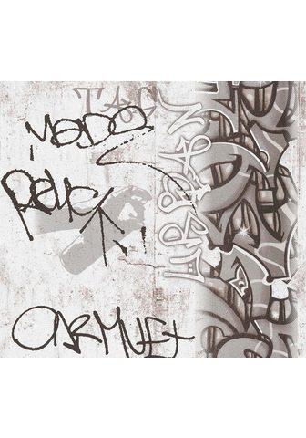 living walls Papiertapete »Boys & Girls« su Graffit...