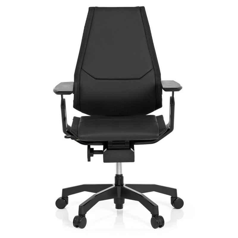 hjh OFFICE Drehstuhl »hjh OFFICE High End Bürostuhl GENIDIA BLACK«