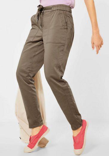 Cecil Chinohose »Style Chelsea« mit elastischem Bund