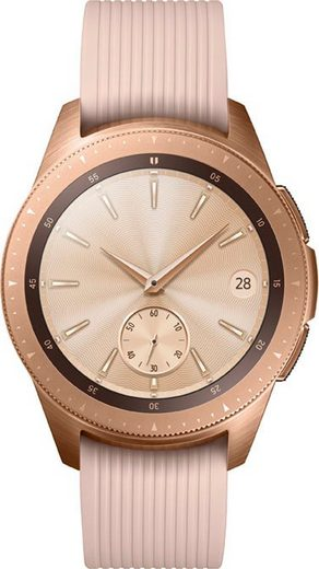 Samsung Galaxy Watch - 42mm Smartwatch (3,05 cm/1,2 Zoll, Tizen OS)