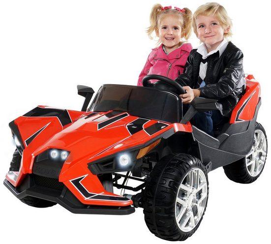 Actionbikes Motors Elektro-Kinderauto »Kinder Elektroauto GT Super Speed JC888«, Belastbarkeit 40 kg, für 2 Kinder - inkl. Fernbedienung