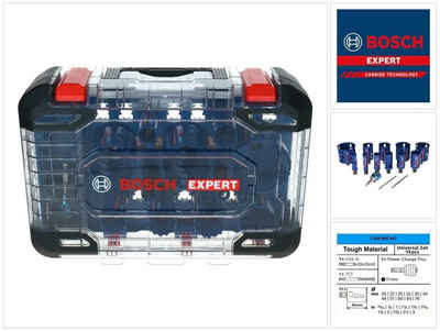 Bosch Professional Lochsäge »Bosch EXPERT Tough Material Lochsägen Set 20 - 76 mm 14 tlg. (2608900447) Carbide Universal - Nachfolger von 2608594185«