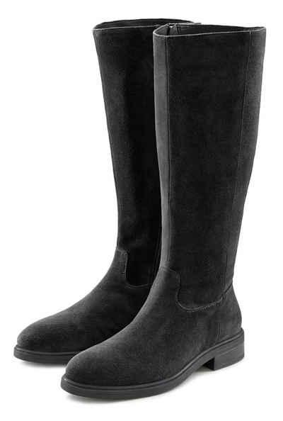 LASCANA Stiefel aus Leder mit Langschaft im klassischen Reiterstiefel Look