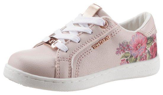 TOM TAILOR Sneaker mit buntem Blumendruck