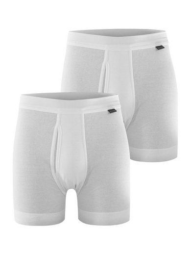 Schiesser Langer Boxer »2-Pack Classic White«