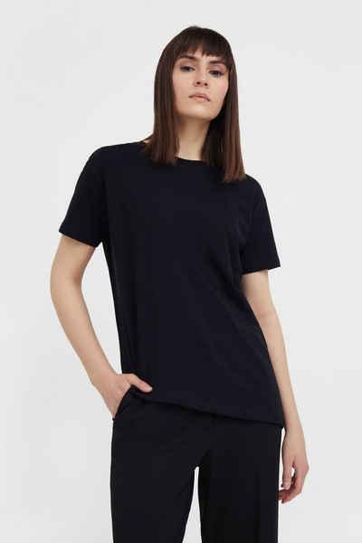 Finn Flare T-Shirt mit asymmetrischem Saum