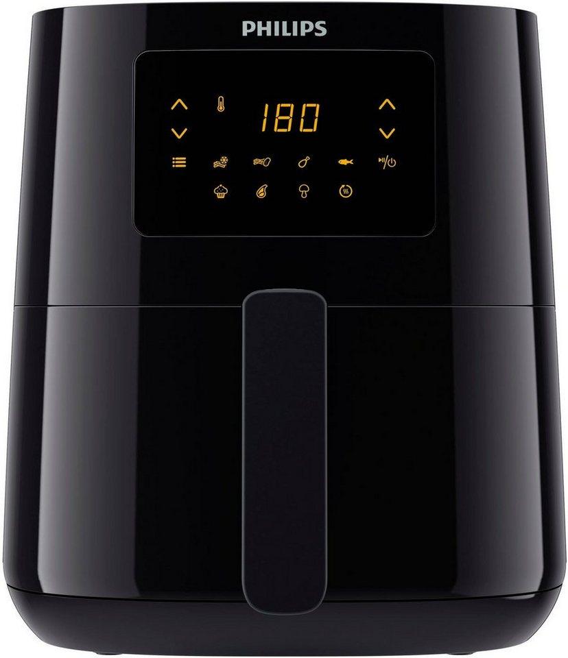 مقلاة كهربائية 0.8 كغم، سعة 4.1 لتر، بشاشة رقمية، من فيليبس، HD9252/90