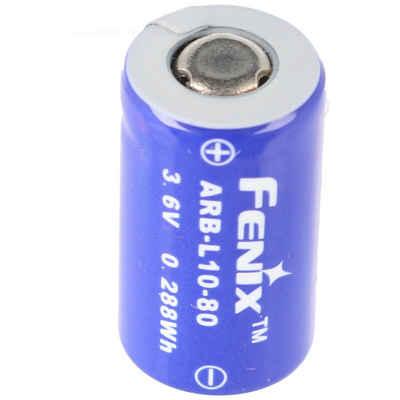 Fenix »Li-Ion Akku 10180 18x10mm mit Schutzelektronik ide« Akku