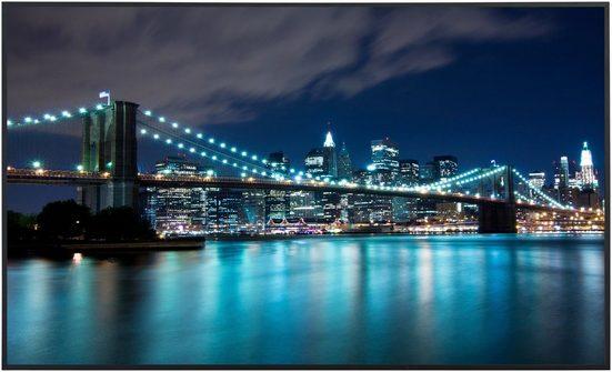 PAPERMOON Infrarotwandheizgerät »New York«, Aluminium, 600 W, 100x60 cm