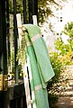 Wohndecke »Jacquard Kano«, IBENA, mit Blockstreifen, Bild 2