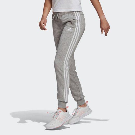 adidas Performance Jogginghose »3-STRIPES ESSENTIALS SLIM WOMENS«