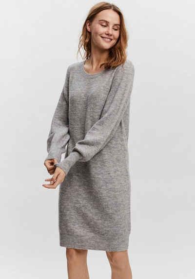 Vero Moda Strickkleid »VMSIMONE LS O-NECK DRESS«