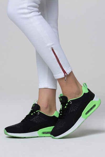 SOCCX Keilsneaker mit gepolstertem Einstieg