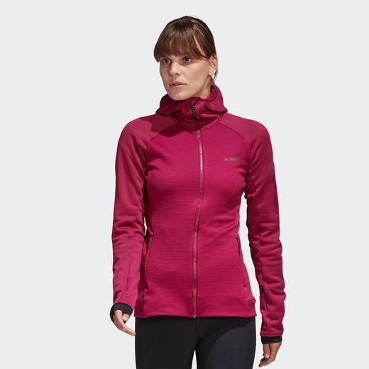 adidas TERREX Fleecejacke »Stockhorn Hooded Jacke«