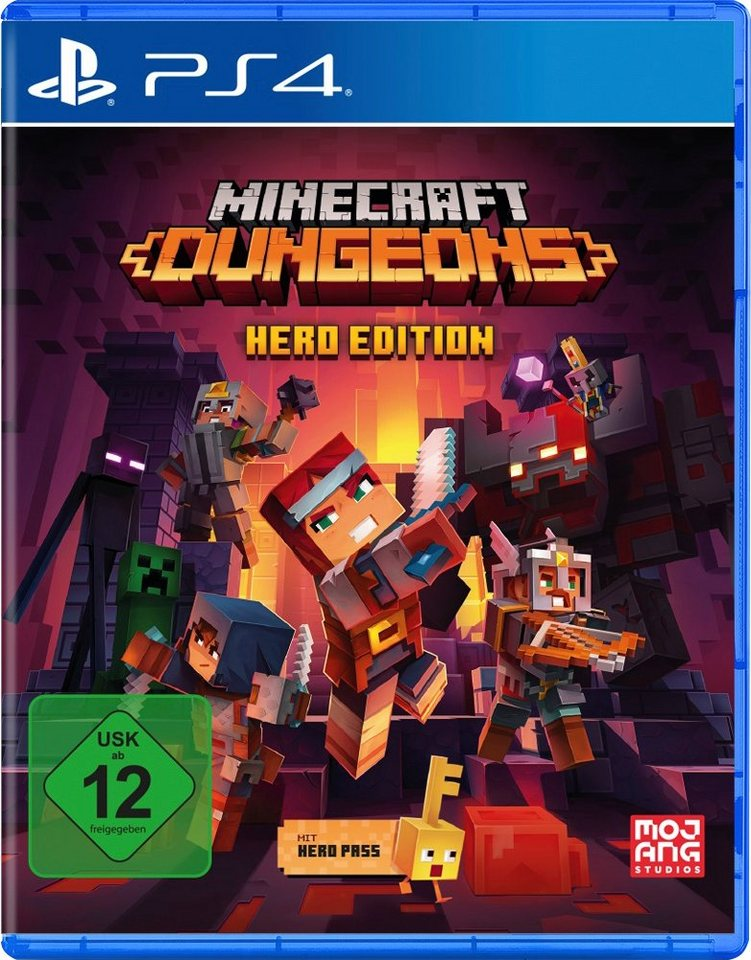 Minecraft Dungeons - Hero Edition PlayStation 4