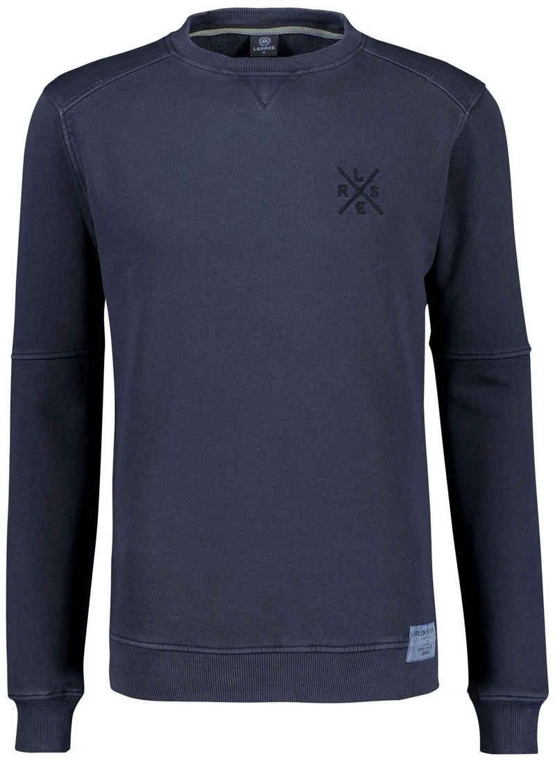LERROS Sweatshirt mit Logoschriftzug
